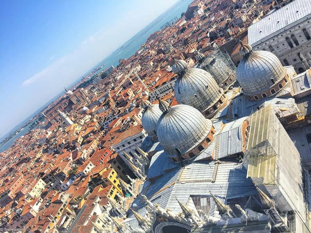 Best time to visit Venice, 3 days Venice itinerary, free things to do in Venice, St. Mark's Bell Tower, St. Mark's Square
