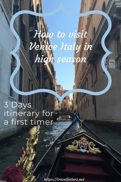 How to visit and avoid largest crowds in Venice Italy during high season. 3 Days itinerary for Venice, including places to stay and restaurants to eat.