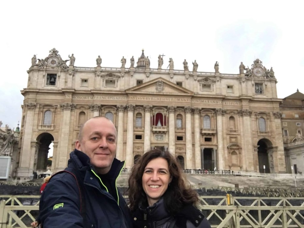 things to do in Rome, St. Peter's Square, St. Peter's Dome in Rome, visit Rome in winter, Rome in winter, winter in Rome, Vatican city, 2-3 days Rome itinerary,
