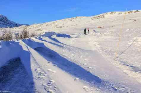 Valdresflye - the route to Jotunheimen national park