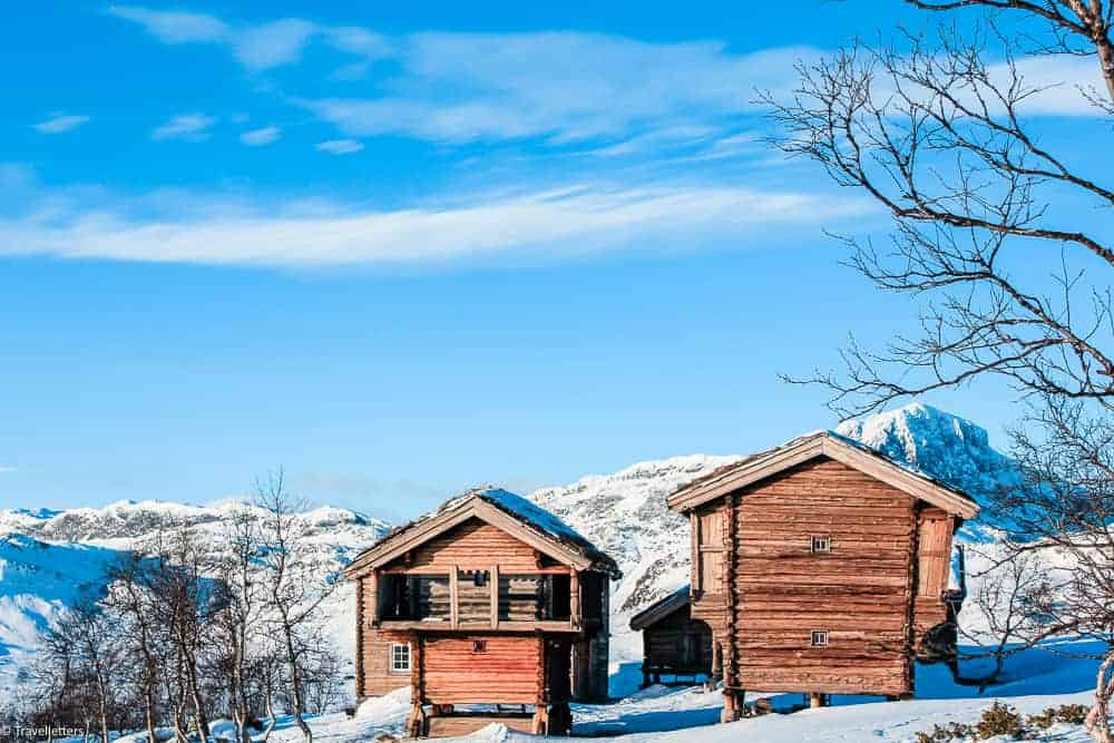 Norwegian mountains, Beitostølen, ski resort Norway, Norway in winter, winter in Norway, Bittihorn