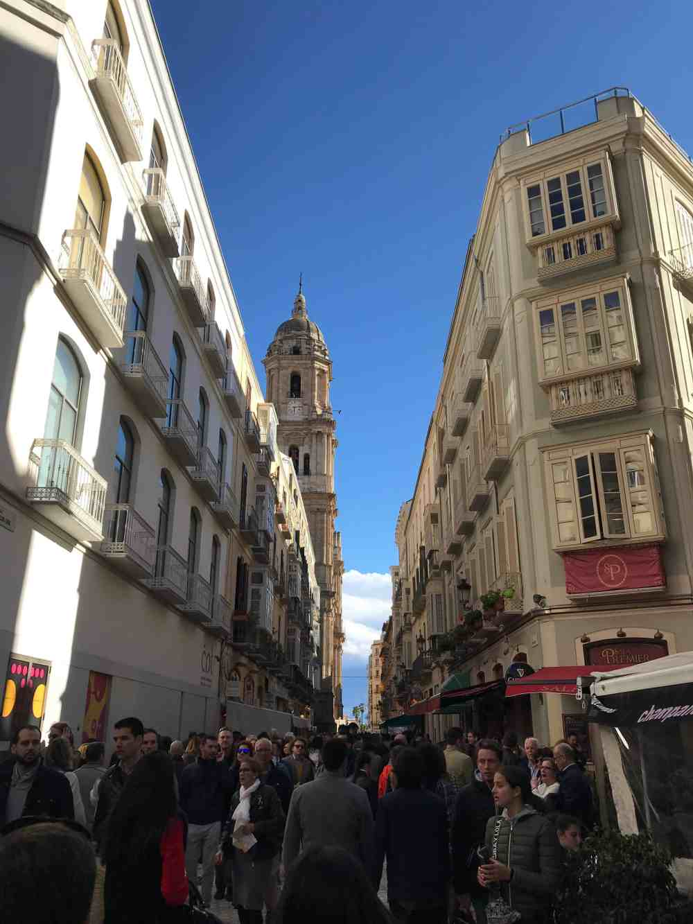 Malaga during Semana Santa, the Holy Week
