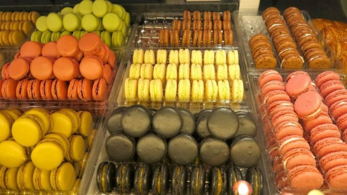 Macrons at The Ladurée