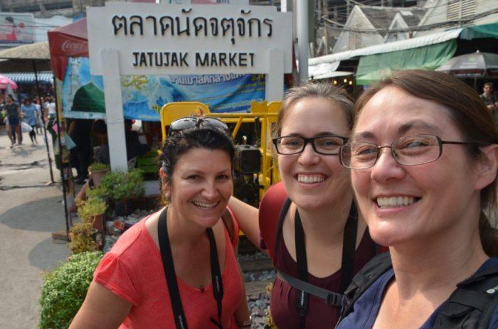 Jakjut Markets - selfie