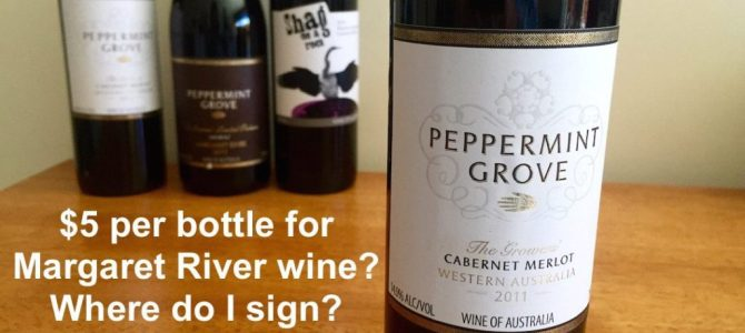 Cheapest wine in Margaret River is about to end