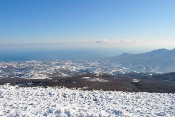 пейзаж Ангарский перевал