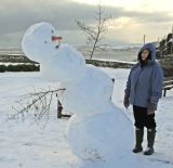 снеговик Рака