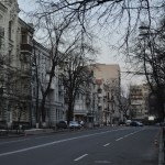 Вечерний Киев, Лютеранская, весна 2012