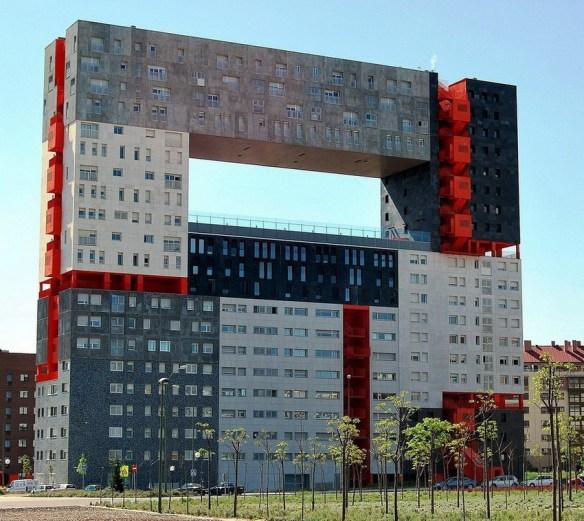 Edificio mirador в Мадриде, Испания