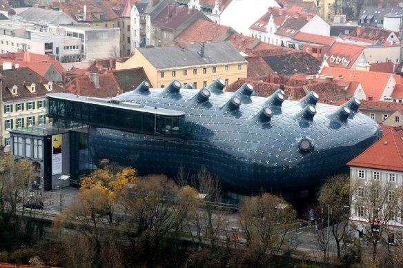 Музей искусств в Граце, Австрия.