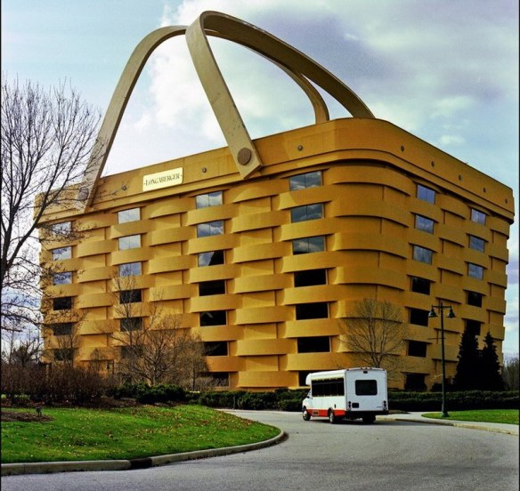 Офис фирмы Longaberger basket company в Нью-Арк Огайо