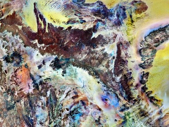 Сахара с космоса фото