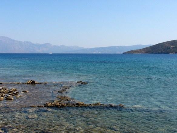 затонувший Олус на Крите