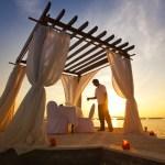 романтический пляжный отдых