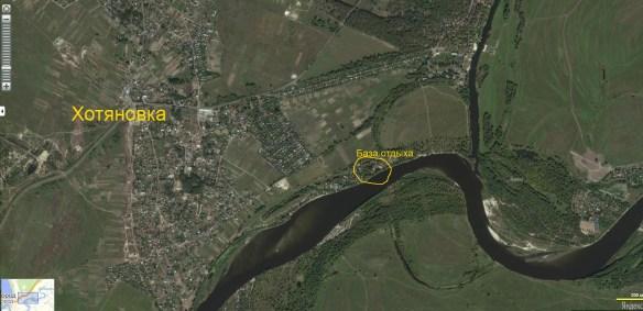 база отдыха на Десне возле Киева