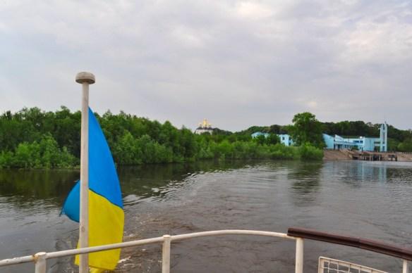 прогулка по реке Чернигов