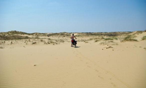 Алёшковские пески пустыня в Украине