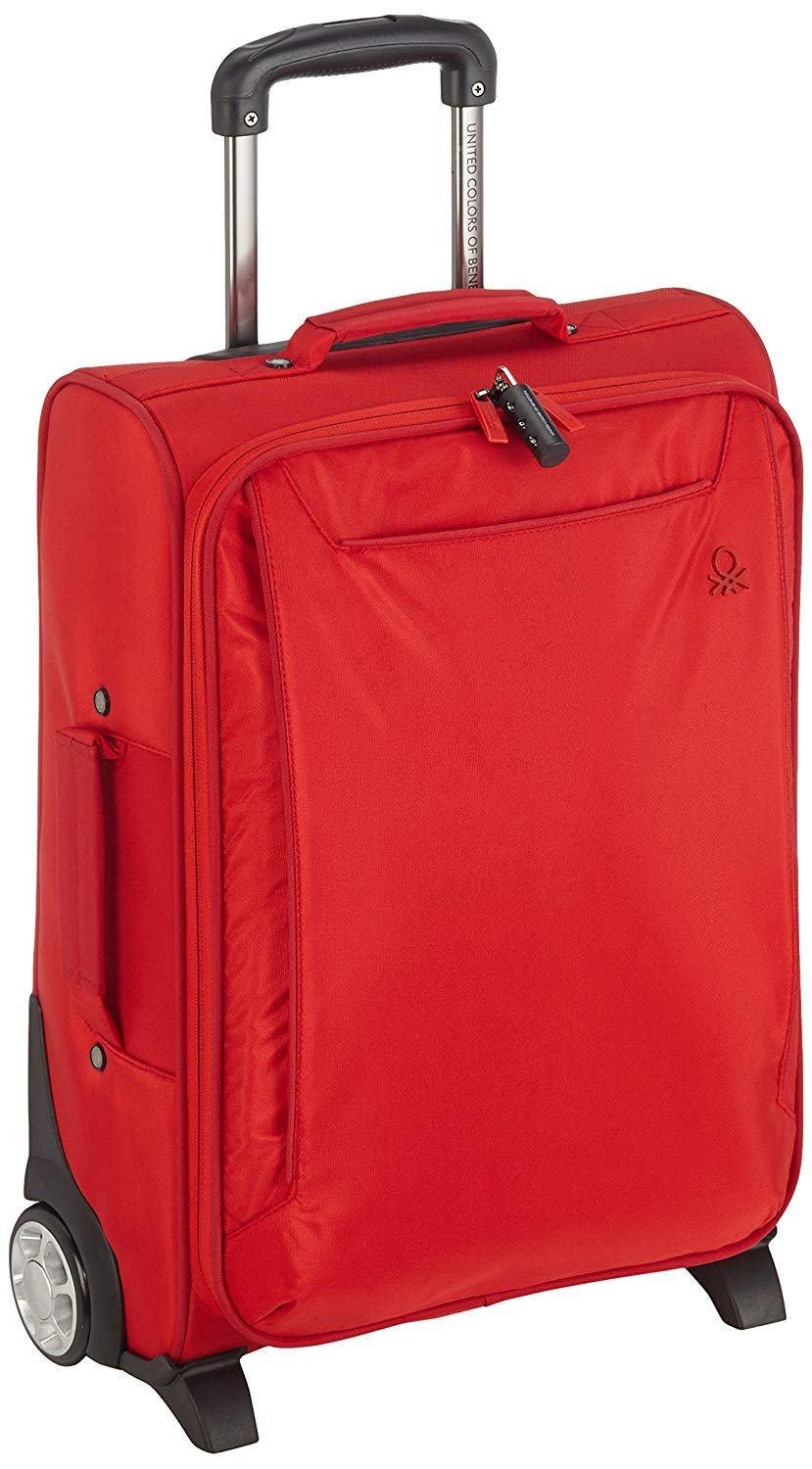Benetton Rollkoffer ACCOUNT 20_39A73961_RED/DKRED Rot 41 L