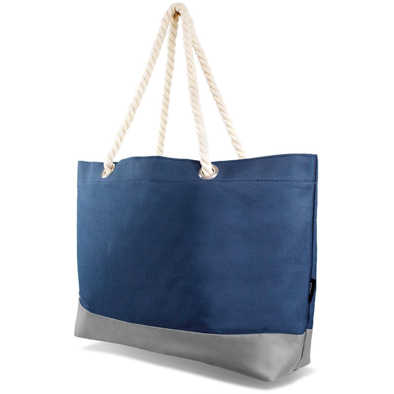 Tarjane Beachbag Grosse Strandtasche Badetasche für Damen Weekend Bag