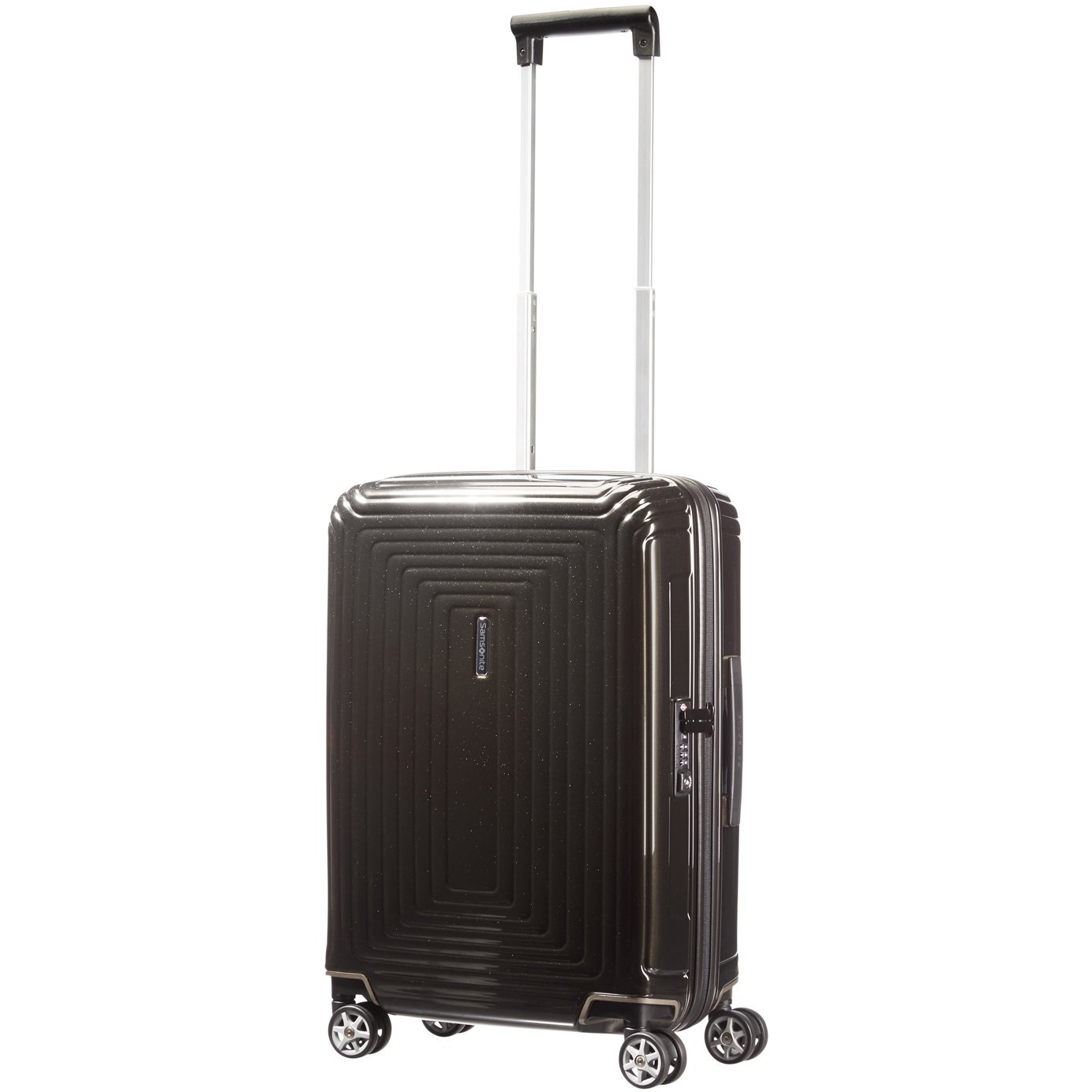 Samsonite Neopulse Spinner, S (55cm-38L), METALLIC BLACK