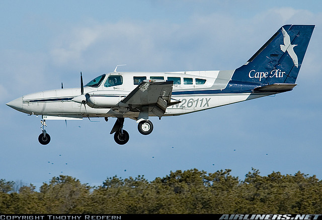 Cape Air airplane