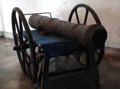 Antique Cannon in Museum Kasultanan Surakarta