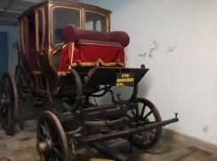 Antique Horse Carriage in Museum Kasultanan Surakarta