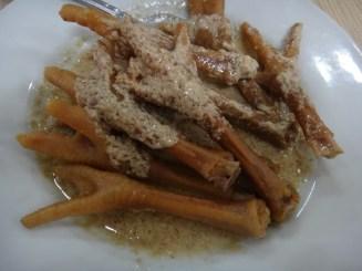 Chicken Feet at Adem Ayem Restaurant Solo