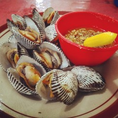 Boiled Shell with Sauce