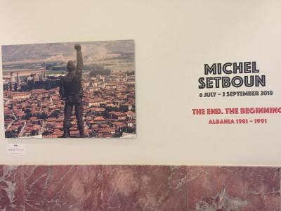Michael Setboun COD expositie Tirana