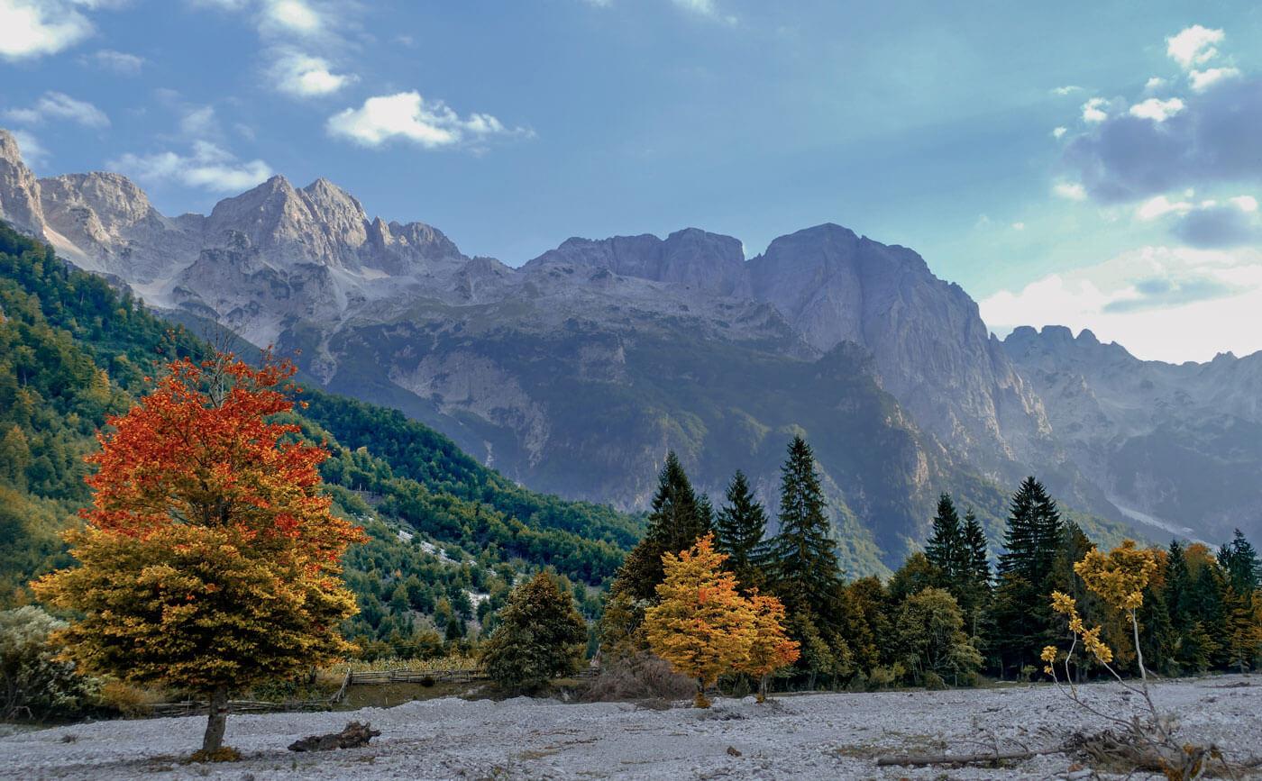 Valbone-Rragam-Albanie