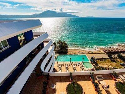 Zeeuitzicht hotel Regina Blu