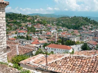 overzicht-berat-stad albanie unesco