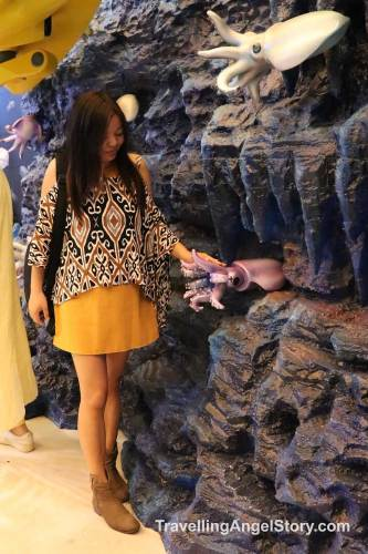 Visiting Sea Life Bangkok