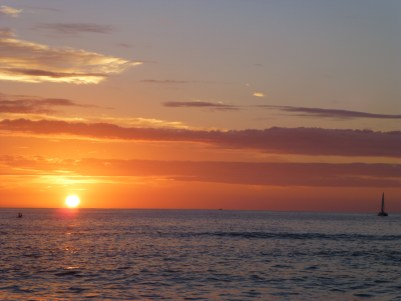 St Gilles sunset