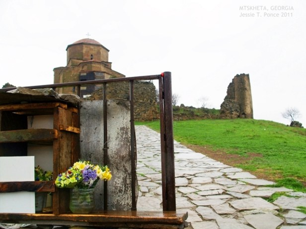 Entrance to the Jvari Monastery