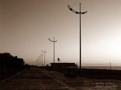 Lamp posts at Batumi Boulevard