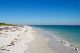 A Serene Beach Scene