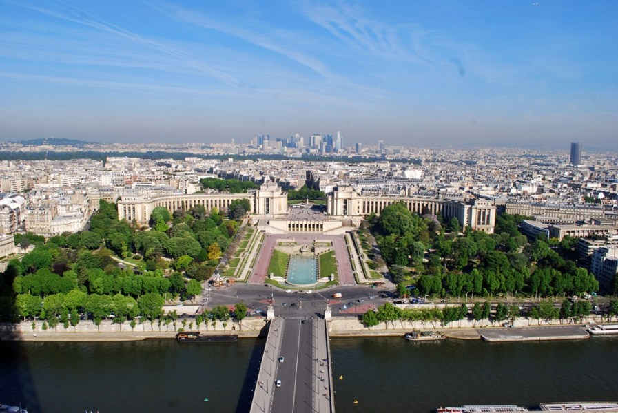 A view from the Eiffel Tower | © TravellingBuzz Photo