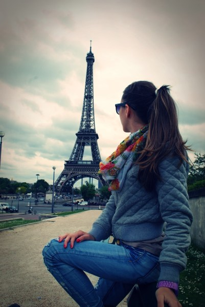 Me in Paris | © TravellingBuzz Photo
