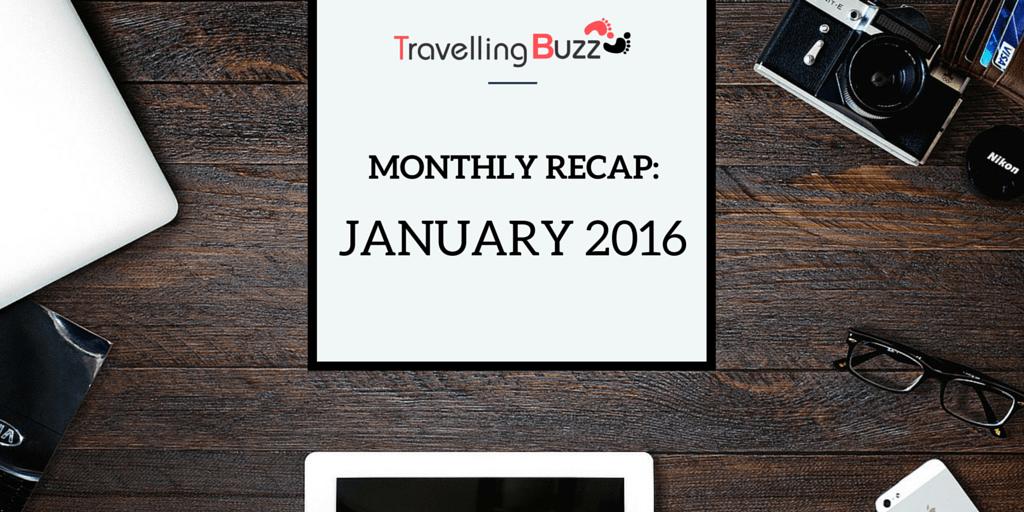 travel blogger monthly recap