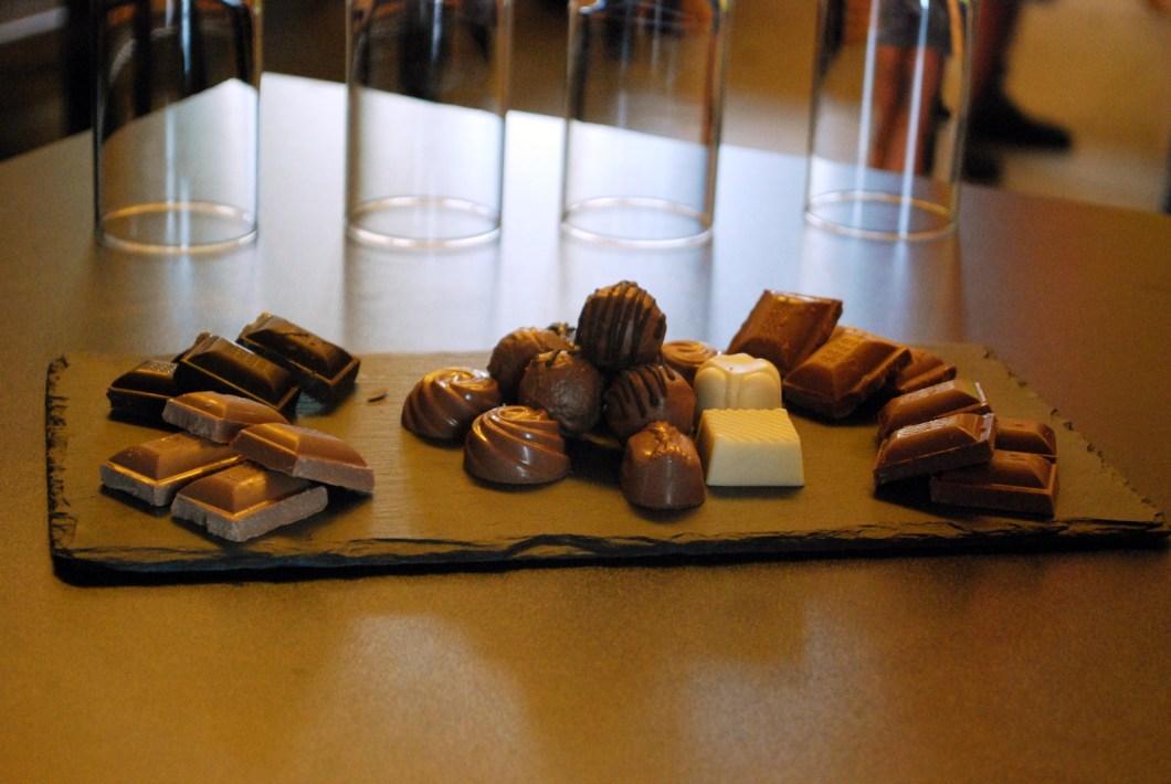 chocolate tasting bela krajina
