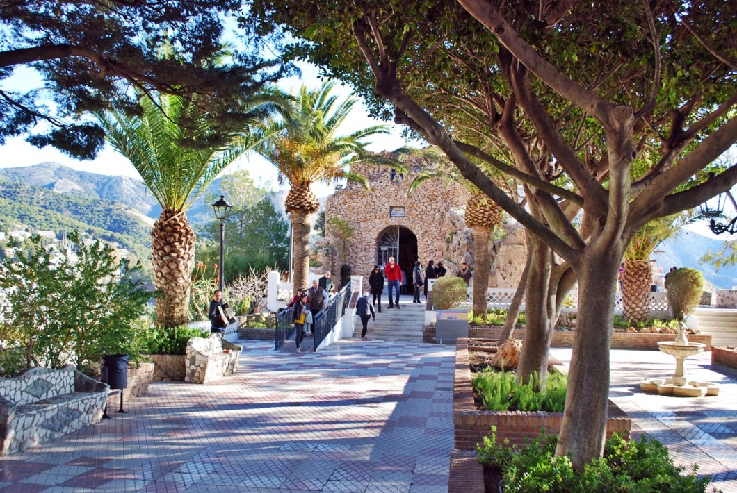 from malaga to mijas - Chapel of the Virgin of the Rocks