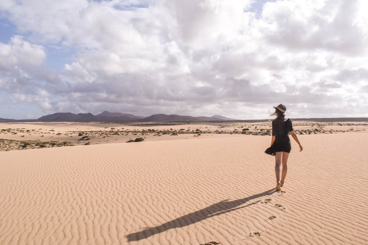 corralejo natural park fuerteventura, canary islands