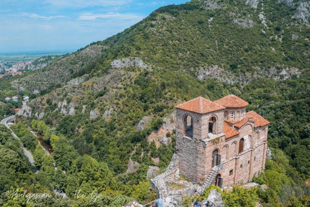 Asenov's Fortress Bulgaria - Rhodope mountains