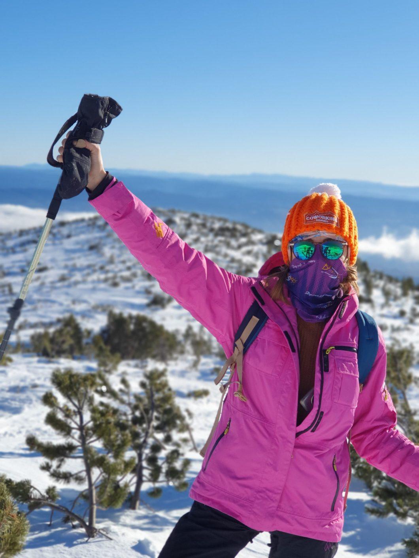 snowshoeing in Pirin Bulgaria