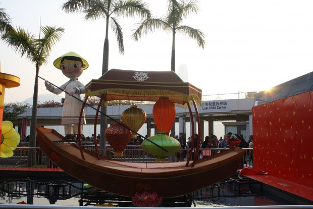 Chinese New Year Decoration, Hongkong