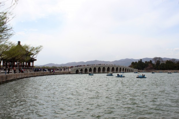 Seventeen-Arch bridge in the Summer Palace complex