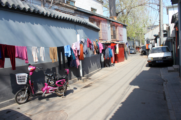Street scenes in a Hutong