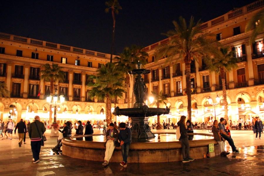 Plaça Reial Barcelona Catalunya Spain